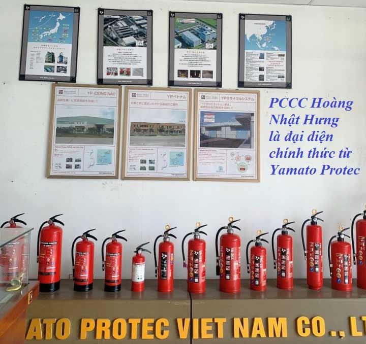 Cung cấp bình PCCC Yamato Protec